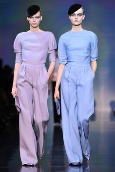 Armani Prive AW 2012 at Haute Couture