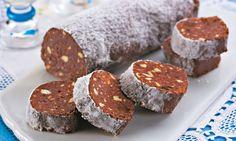 Salaminho de Nutella®: rodelinhas deliciosas