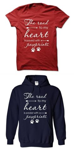 The Road To My Heart Big Dog T Shirt Outlet #9gag #dog #tshirt #beer #in #dog #years #t-shirt #dog #face #t #shirt #groupon #love #dogs #t-shirt