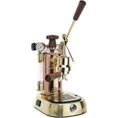 La Pavoni: de meest romantische espresso apparaten uit de Kookpunt collectie.