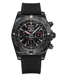 The 7 exclusive journal Breitling Chronomat 44 Blacksteel. Breitling Chronomat, Breitling Superocean Heritage, Men's Watches, Breitling Watches, Fine Watches, Cool Watches, Fashion Watches, Pocket Watches, Wrist Watches