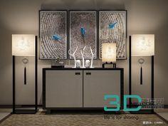 69. Sideboard & chest of drawer 3D model - 3D Mili - Download 3D Model - Free 3D Models - 3D Model Download