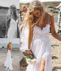 New Sexy Custom Sweetheart Bridal Gowns Long Lace Beach Wedding Dresses 2014