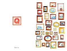 Spread from 'Hoje sinto-me. / Today I feel.' by Madalena Moniz: Alphabet Book, Hd Picture, Children's Book Illustration, Image House, Neutral Colors, Childrens Books, Illustrators, Cool Pictures, Gallery Wall