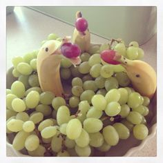 Sjovt frugtfad til børnefødselsdag