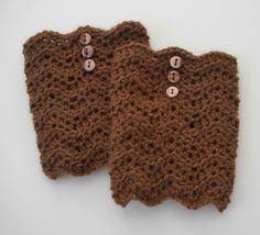 Boot Cuffs Leg Warmers from Utah Wraps On ETSY