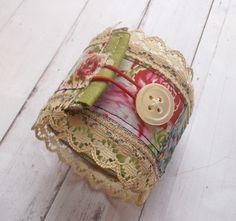 Vintage Style Fabric Cuff