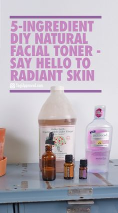 How to Make DIY Facial Toner With Only 5 Ingredients – Say Hello to Radiant Skin DIY Natural Facial Toner - Say Hello to Radiant Skin Cleanser For Oily Skin, Skin Toner, Facial Cleanser, Moisturizer, Diy Lotion, Hand Lotion, Health And Beauty Tips, Beauty Tricks, Diy Beauty