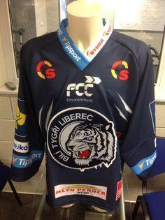 HC Bílí Tygři Liberec 2015/16 jersey Hockey Sweater, Ice Hockey, Christmas Sweaters, Twitter, Jackets, Fashion, Down Jackets, Moda, Fashion Styles