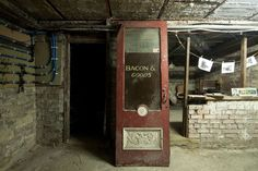 In 2003, construction workers renovating the Royal Arcade in Keighley, West Yorkshire, were amazed to discover a secret underground shopping street seemingly frozen in time, abandoned and buried beneath the present building in the 1890s.