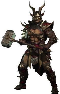 Shao Kahn | Villains Wiki | FANDOM powered by Wikia Scorpion Mortal Kombat, Mortal Kombat 9, Game Character Design, Character Creation, Liu Kang And Kitana, Claude Van Damme, The Revenant, Batman Family, Video Game Characters