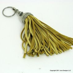 Key fob (key ring) tassel made of leather