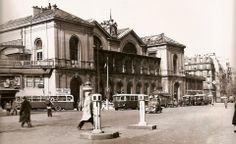 L'ancienne Gare Montparnasse en 1948