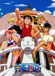 Day 23 - Favorite anime series: One Piece