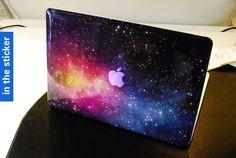 Galaxy macbook pro decal apple sticker macbook pro by inthesticker, $15.98