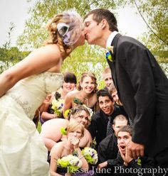 #wedding #photography #kiss almost 1200 repubs of my wedding photo. No big deal or anything