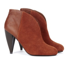 {the Gabby bootie} suede Western-influenced bootie. love this colour