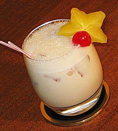 Jamaican Quaalude (1 oz. Kahlua 1 oz. Malibu Coconut Rum 1 oz. Baileys Irish Cream .5 oz Amaretto .5 oz Frangelico 1 oz. Half & Half)