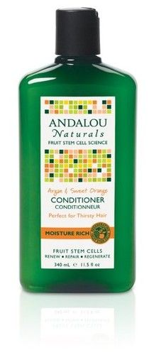 Such a yummy conditioner!   Andalou Naturals Moisture Rich Conditioner - Argan & Sweet Orange $9.99 - from Well.ca