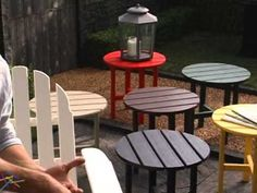Exclusive! POLYWOOD® Recycled Plastic Classic Curveback Adirondack Chair - Product Review Video - YouTube World Market Dining Chairs, Recycled Plastic Adirondack Chairs, Polywood Adirondack Chairs, Landscaping Images, Modern Dining Chairs, Outdoor Furniture Sets, Outdoor Decor, Mid-century Modern, Product Review