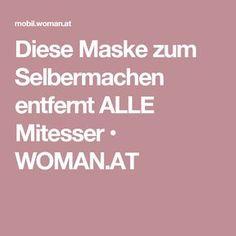 Diese Maske zum Selbermachen entfernt ALLE Mitesser • WOMAN.AT