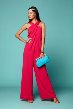 Image result for miami chic coral jumpsuit