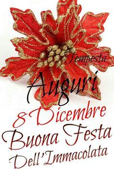 Buona Festa dell'Immacolata auguri Saints Days, Emoticon, Madonna, Good Morning, Gif, Mamma, Facebook, Christmas, Album