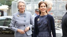 HRH Princess Benedikte and Crown Princess Mary in Germany, day 2 6/25/13