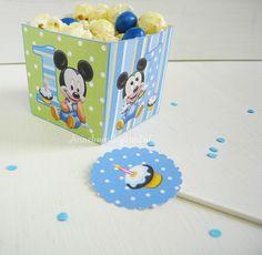 1ste Verjaardag Mickey Mouse Octopuss