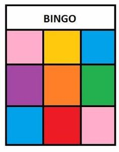 Free Printable Bingo Colors Game for Kids to play! This is a super easy game toddlers and preschoolers can learn colors while they play games! Preschool Color Activities, Learning Activities, Preschool Activities, English Worksheets For Kids, English Activities, Toddler Learning, Teaching Kids, Daycare Games, Back To School Art