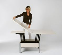 House Decoration: Coffee table convertible in dining table
