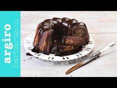 Κέικ μπανάνα με σοκολάτα από την Αργυρώ Μπαρμπαρίγου   Ένα από τα ωραιότερα κέικ με μπανάνες και κρέμα σοκολάτας. Ειδικά τα παιδιά θα ξετρελαθούν! Pork, Beef, Cakes, Fitness, Pork Roulade, Meat, Gymnastics, Cake Makers, Pigs