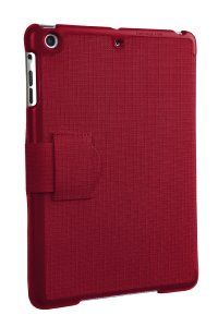 I love this case for my ipad mini - ripstop fabric and it puts it to sleep and wakes it up.