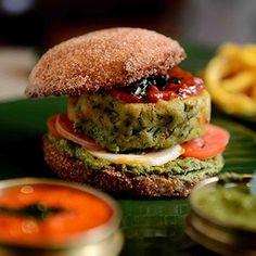 Idli Burger - NDTV
