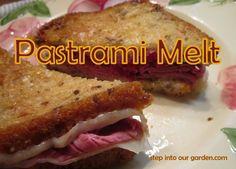 » Jim's Gluten-Free Pastrami Melt Sandwich