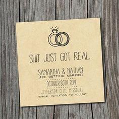 10 maneras de anunciar que te casas http://cocktaildemariposas.com/2014/05/30/save-the-date/ #savethedate