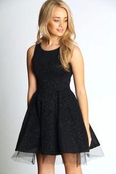 kısa tül abiye elbise modeli