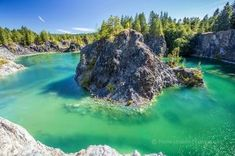 Jumping into the Jade, the secret jewel of British Columbia. Man jumping into a green lake on a remote Island off the coast of Powell River, British Columbia, Canada {oc} - Nature and Science Quarry Lake, Riding Holiday, Powell River, Green Lake, Swimming Holes, Get Outdoors, Sunshine Coast, Vancouver Island, Canada Travel