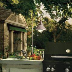 Adjustable Height Utility Light - Landscape Lighting - Outdoor Lighting