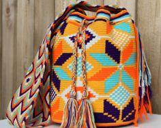 Floral Wayuu Mochila Bag