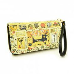 $10.80 Fashion Women's Cluth Wallet With Print and Zipper Design