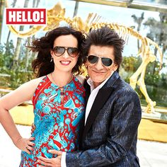 Ronnie Wood exclusively shares his excitement at becoming a father again