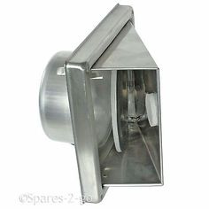 Stainless Steel Wall Air Vent Bathroom Cowl Extractor Outlet Non Return Flap Extractor Hood, Extractor Fans, Vent Hood, Air Vent, Glass Roof, Steel Wall, Cowl, Stainless Steel, Bathroom