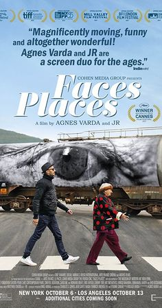 Lovely documentary film by directors  JR and Agnès Varda
