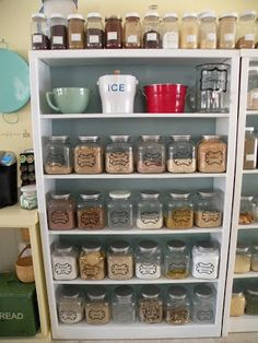 Homemade Mixes 101!  A large list of mixes you can make yourself from SCRATCH instead of buying them at the store ~ Heart, Hands, Home