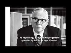 The Psychology of Human Misjudgement - Charlie Munger Full Speech (note to self - pdf and mp3 copies on hard drive)