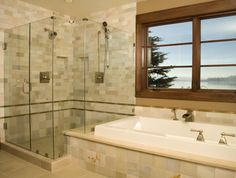 Frameless shower door Installation of Frameless Shower Door Frameless Shower Enclosures, Glass Shower Enclosures, Frameless Shower Doors, Bathroom Shower Doors, Glass Shower Doors, Glass Doors, Bathroom Ideas, Shower Walls, Bathroom Designs