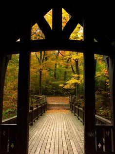 Seven Bridges by Tom Pipia on Capture Wisconsin // Walking into the Seven Bridges area of Grant Park