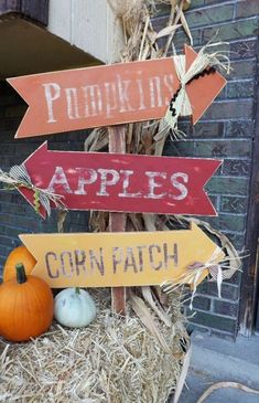 Creative And Cute Fall Signs For Welcoming Autumn
