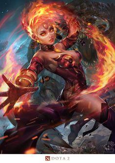 Feiticeira do fogo